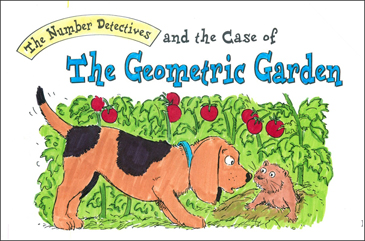 Case of the Geometric Garden (Shapes, Perimeter) - Printable Worksheet