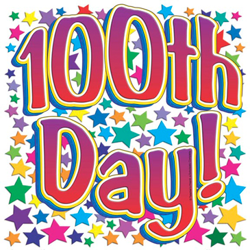 100th Day! - Image Clip Art