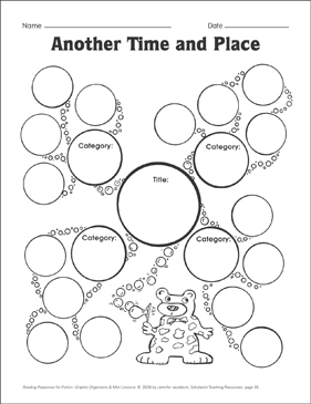 Another Time and Place (classifying): Graphic Organizer - Printable Worksheet