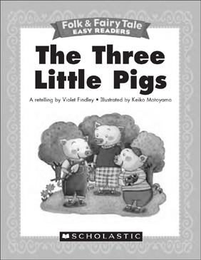 photo regarding Three Little Pigs Printable named The 3 Small Pigs: Mini-Reserve Actions Printable