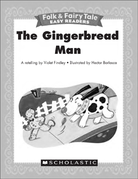 photo about Gingerbread Man Printable Book named The Gingerbread Gentleman: Mini-Guide Actions Printable