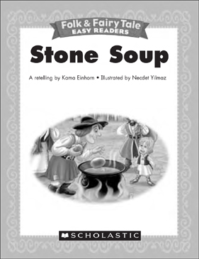 graphic relating to Stone Soup Story Printable referred to as Stone Soup: Mini-Reserve Routines Printable Picture