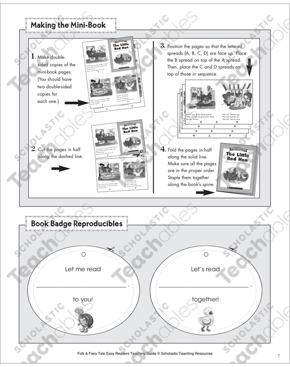 The Ugly Duckling Mini Book Activities Printable