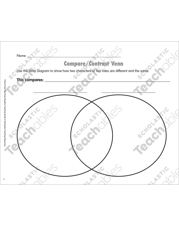 the ugly duckling mini book activities printable graphic Venn Diagram Life see inside image