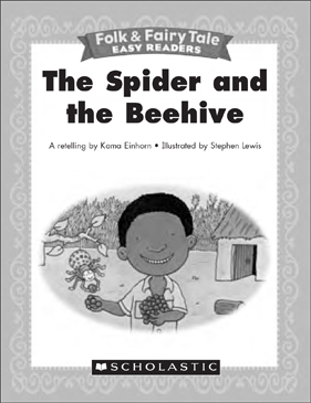 The Spider and the Beehive: Mini-Book & Activities - Printable Worksheet