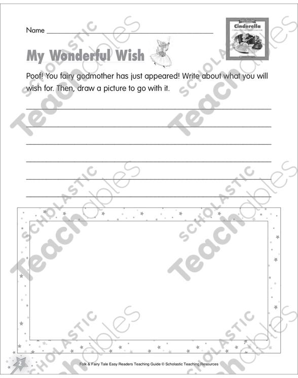 Cinderella Mini Book Activities Printable Graphic Organizers