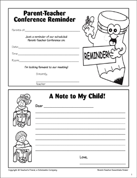 It's just a picture of Monster Printable Parent Teacher Conference Forms