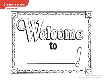 photo relating to Welcome Back Signs Printable titled Again in the direction of College or university - Welcome Indication Functions Printable