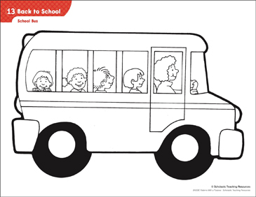photo relating to School Bus Printable known as University Bus (Practice Pursuits) Printable Lesson Programs