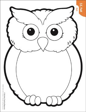 Sweet image intended for owl printable template