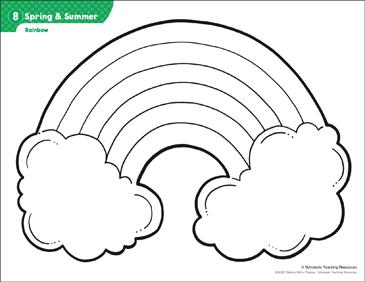 rainbow pattern activities printable lesson plans ideas arts