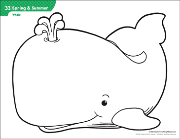 photo regarding Whale Printable identified as Whale (Habit Routines) Printable Lesson Strategies, Designs