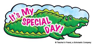 It's My Special Day! - Image Clip Art