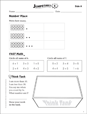 Grade 6 Morning Jumpstart Math Workbook Education Printed Book for Mathematics Scholastic Res
