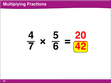 Math Review: Fractions and Ratios - Printable Worksheet