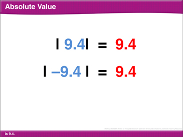 Math Review: Absolute Value, Compare Numbers, Order Rational Numbers, Median - Printable Worksheet