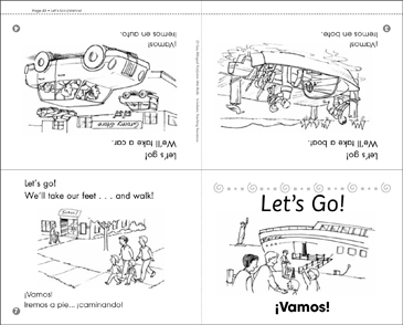 Let's Go!/¡Vamos! - Printable Worksheet
