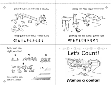 Let's Count!/¡Vamos a Contar! - Printable Worksheet