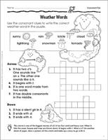 Crossword Puzzle Games, Activities & Worksheets for Kids