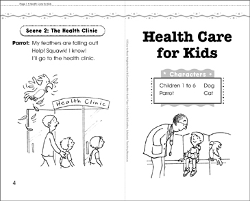 Health Care for Kids: Play - Printable Worksheet