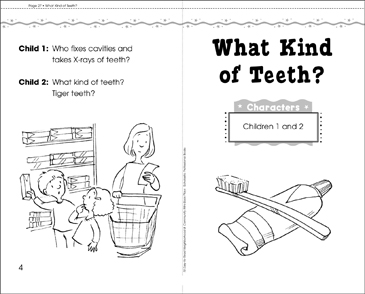 What Kind of Teeth: Play - Printable Worksheet