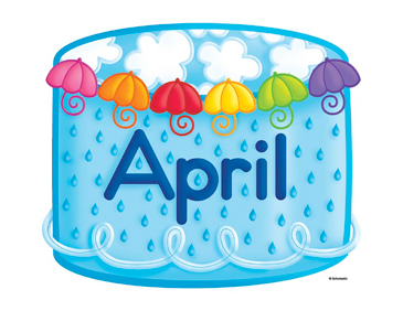 Image result for april birthdays clipart