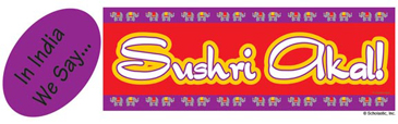 In India We Say...Sushri akal! (Welcome!) - Image Clip Art