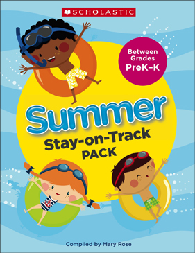 Summer Stay-on-Track Pack Between Grades PreK and K - Printable Worksheet