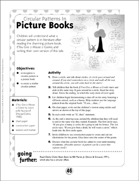 Language Arts Patterns: Circular Patterns in Picture Books - Printable Worksheet