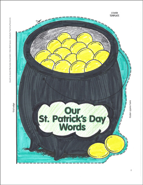 Pot O' Gold: March Word Wall - Printable Worksheet