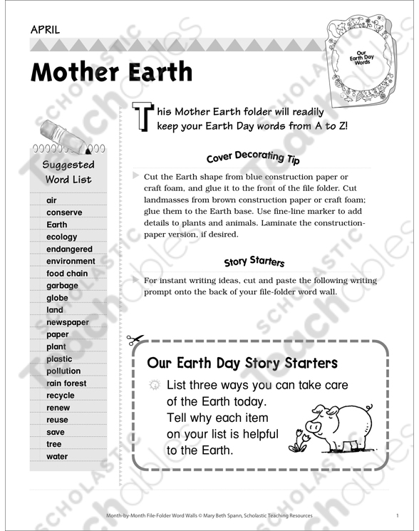 words for mother earth
