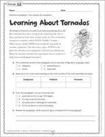 Tornadoes Worksheets, Practice Games, Printable Activities & Lessons ...