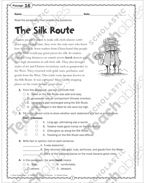 picture relating to Silk Road Map Printable identify The Silk Path: Conclusion Studying Webpage Printable Abilities