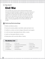 image about Civil War Printable Activities named Civil War Period of time Reconstruction: Worksheets, Routines