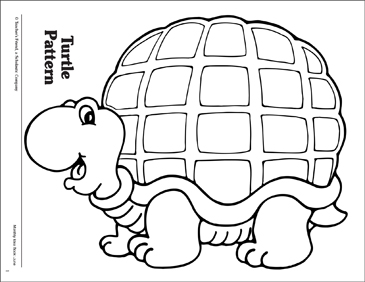 image regarding Turtle Pattern Printable referred to as Turtle Routine Printable Coloring Internet pages