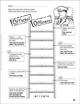 Effortless image regarding word ladder printable