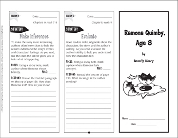 reading response activities for middle school