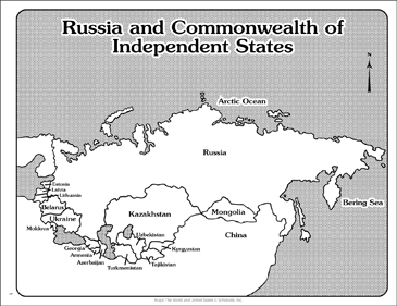 photograph about Printable Map of Russia known as Maps of Russia/Commonwealth of Individual Says