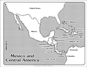 photograph relating to Printable Maps of Central America referred to as Maps of Mexico and Central The united states Printable Maps and