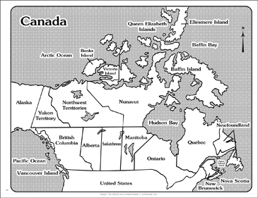 labeled map of canada pdf