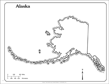 picture relating to Printable Maps of Alaska identified as Alaska: Place Determine Map Printable Maps and Capabilities Sheets