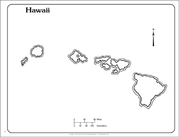 graphic about Printable Pictures of Hawaii identify Hawaii: Nation Define Map Printable Maps and Techniques Sheets