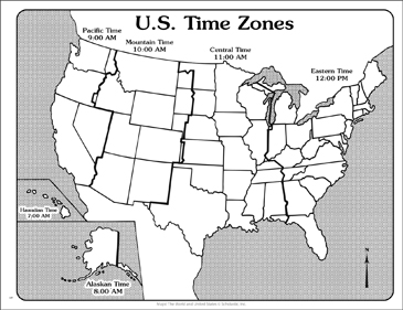 picture about Printable Us Time Zones Map named U.S. Season Zones (Determine Map) Printable Maps and Techniques Sheets
