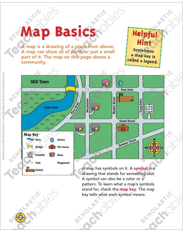 Map Basics Map Skills Printable Maps And Skills Sheets