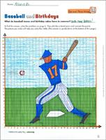 Baseball and Birthdays (Decimal Place Value) (6th Grade Math Worksheet)