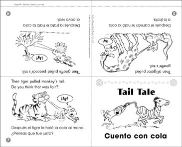 Cuento con cola / Tail Tale - Printable Worksheet