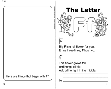 The Letter Ff - Printable Worksheet