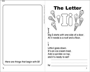 The Letter Ii - Printable Worksheet