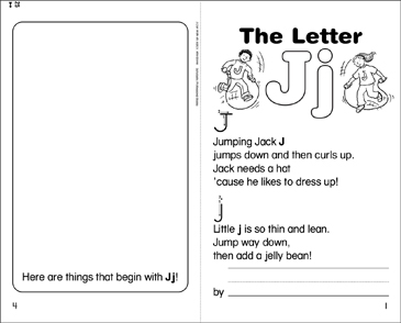 The Letter Jj - Printable Worksheet