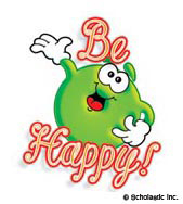 Be Happy!: Mini-Sticker - Image Clip Art